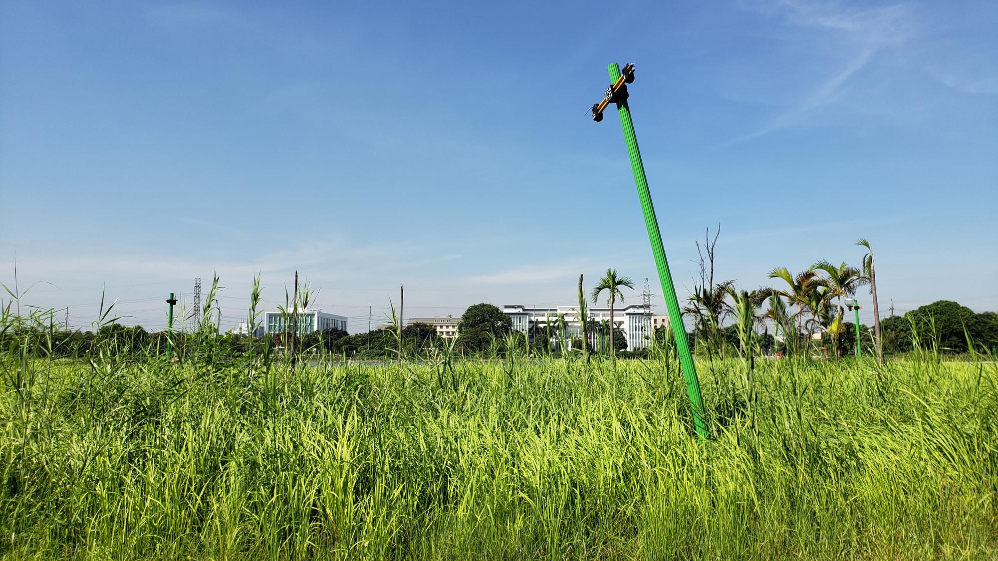 Chờ dự án cải tạo, công viên CV-02 Khu đô thị mới Việt Hưng như cánh đồng hoang - Ảnh 15.