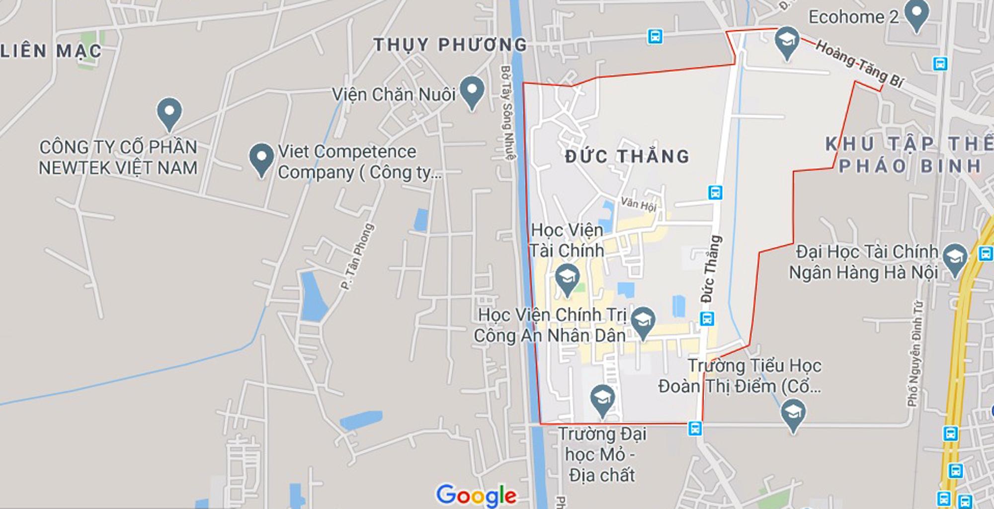 đường sẽ mở theo qui hoạch ở phường Đức Thắng, Bắc Từ Liêm, Hà Nội - Ảnh 1.