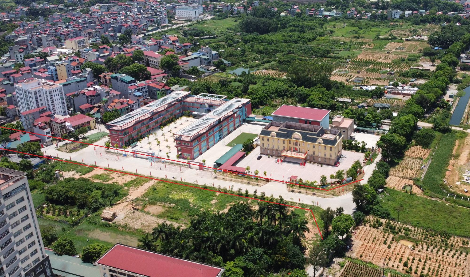đường sẽ mở theo qui hoạch ở phường Đức Thắng, Bắc Từ Liêm, Hà Nội - Ảnh 3.