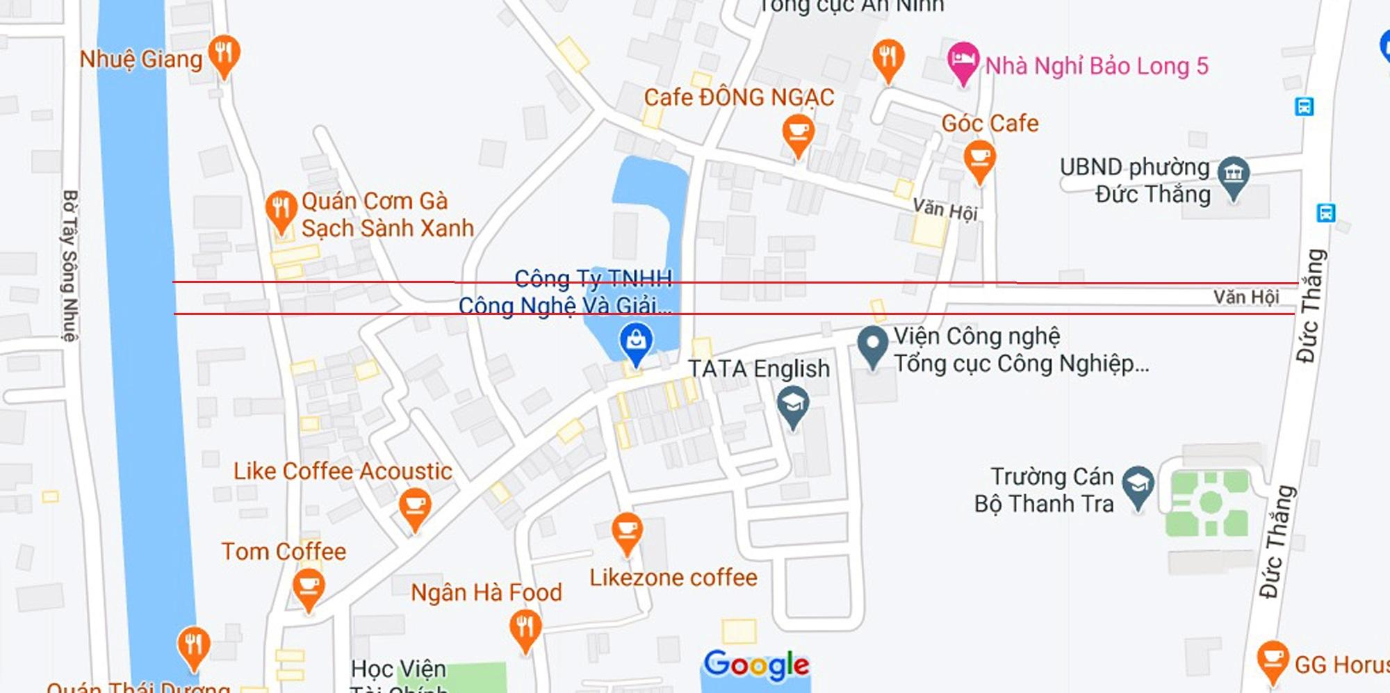 đường sẽ mở theo qui hoạch ở phường Đức Thắng, Bắc Từ Liêm, Hà Nội - Ảnh 2.