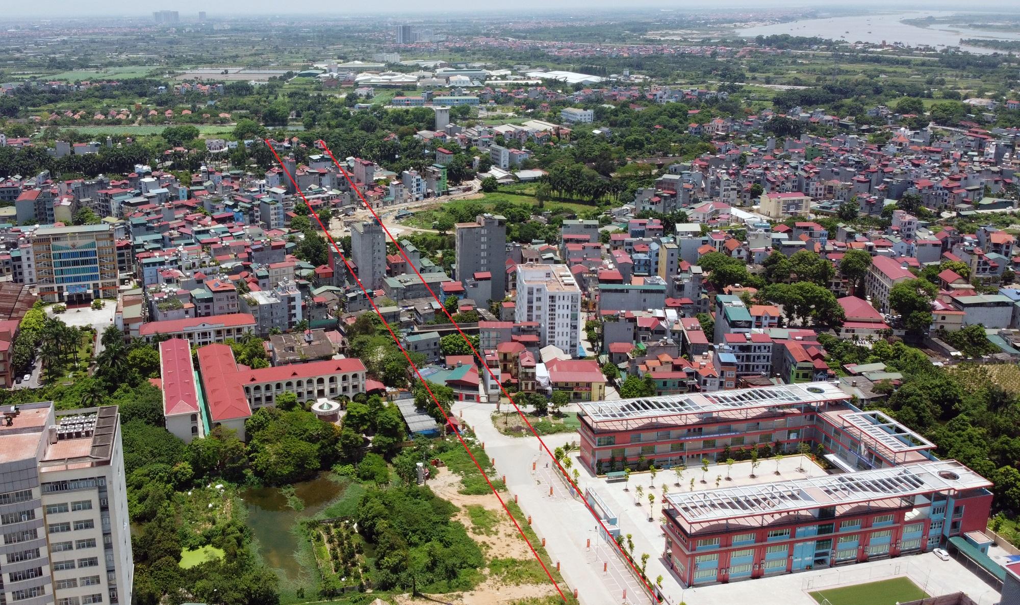 đường sẽ mở theo qui hoạch ở phường Đức Thắng, Bắc Từ Liêm, Hà Nội - Ảnh 4.