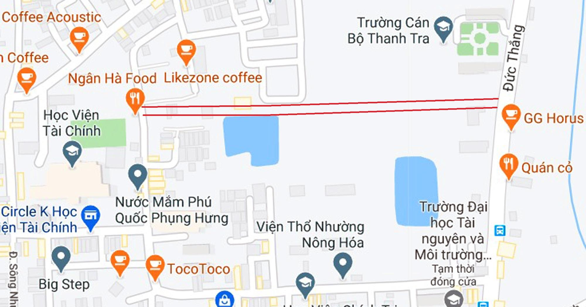 đường sẽ mở theo qui hoạch ở phường Đức Thắng, Bắc Từ Liêm, Hà Nội - Ảnh 5.