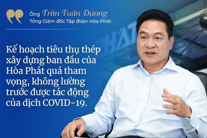 Hòa Phát khó hoàn thành mục tiêu bán 3,6 triệu tấn thép xây dựng, chuyển sang bán phôi thép - Ảnh 2.