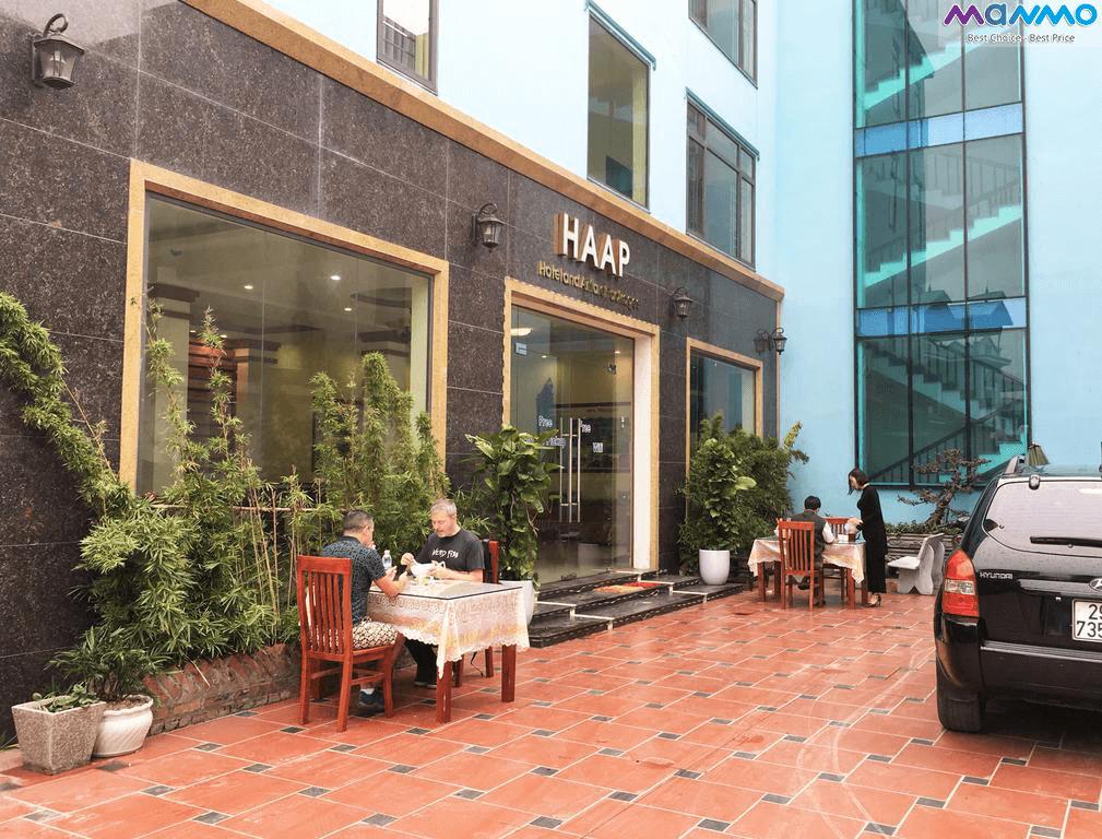 Haap Transit có dịch vụ đưa đón du khách từ sân bay Nội Bài về khách sạn và ngược lại. (Ảnh: Mamno).