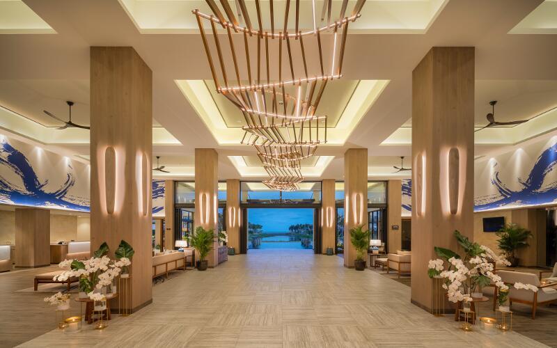 Sợ Vũng Tàu đông đúc, ghé ngay resort ở Hồ Tràm để hưởng thụ biển xanh - Ảnh 3.