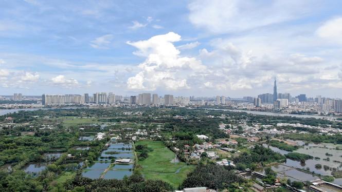 Bên trong 'siêu' đô thị bị qui hoạch treo gần 30 năm giữa lòng Sài Gòn - Ảnh 1.