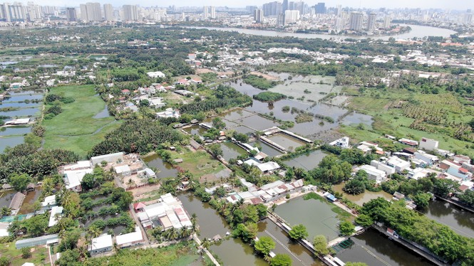 Bên trong 'siêu' đô thị bị qui hoạch treo gần 30 năm giữa lòng Sài Gòn - Ảnh 3.