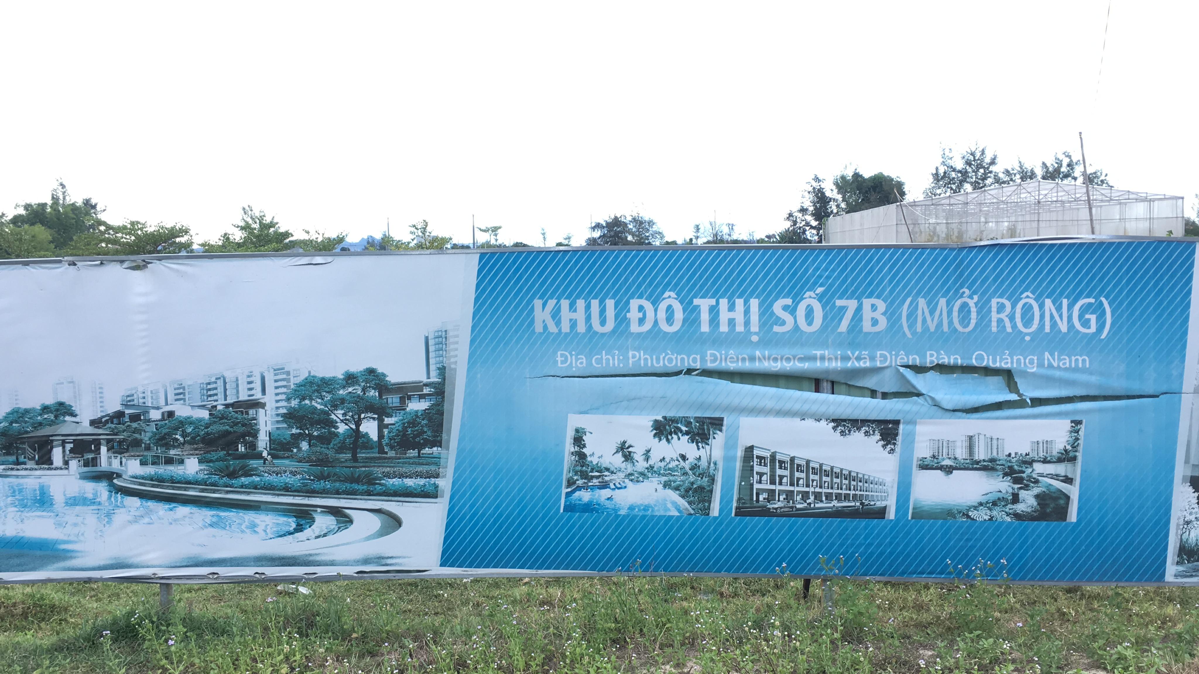 Quảng Nam: Dự án Khu đô thị 7B mở rộng hạ tầng dang dở, đang là nơi chăn thả bò - Ảnh 3.