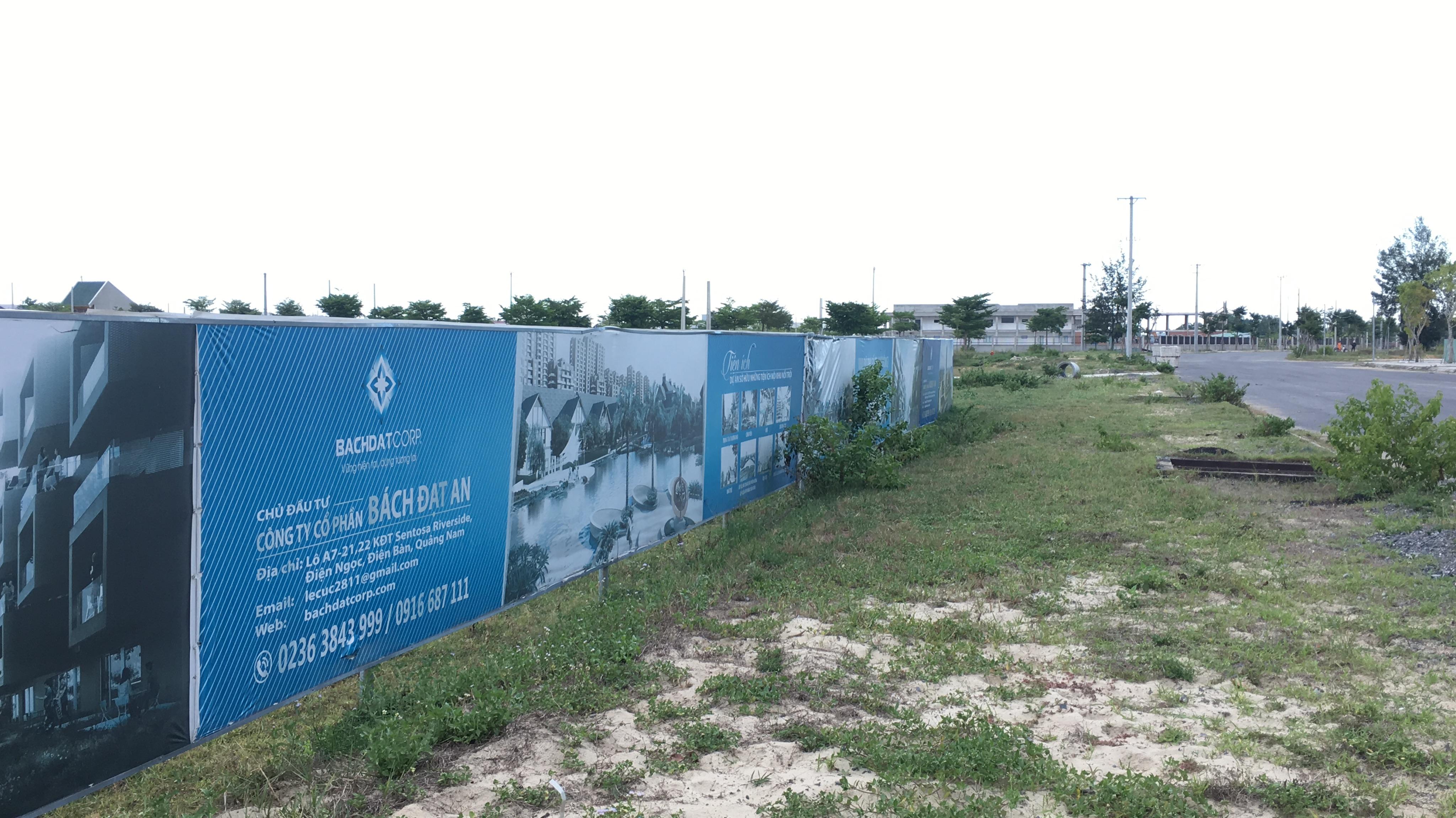 Quảng Nam: Dự án Khu đô thị 7B mở rộng hạ tầng dang dở, đang là nơi chăn thả bò - Ảnh 4.