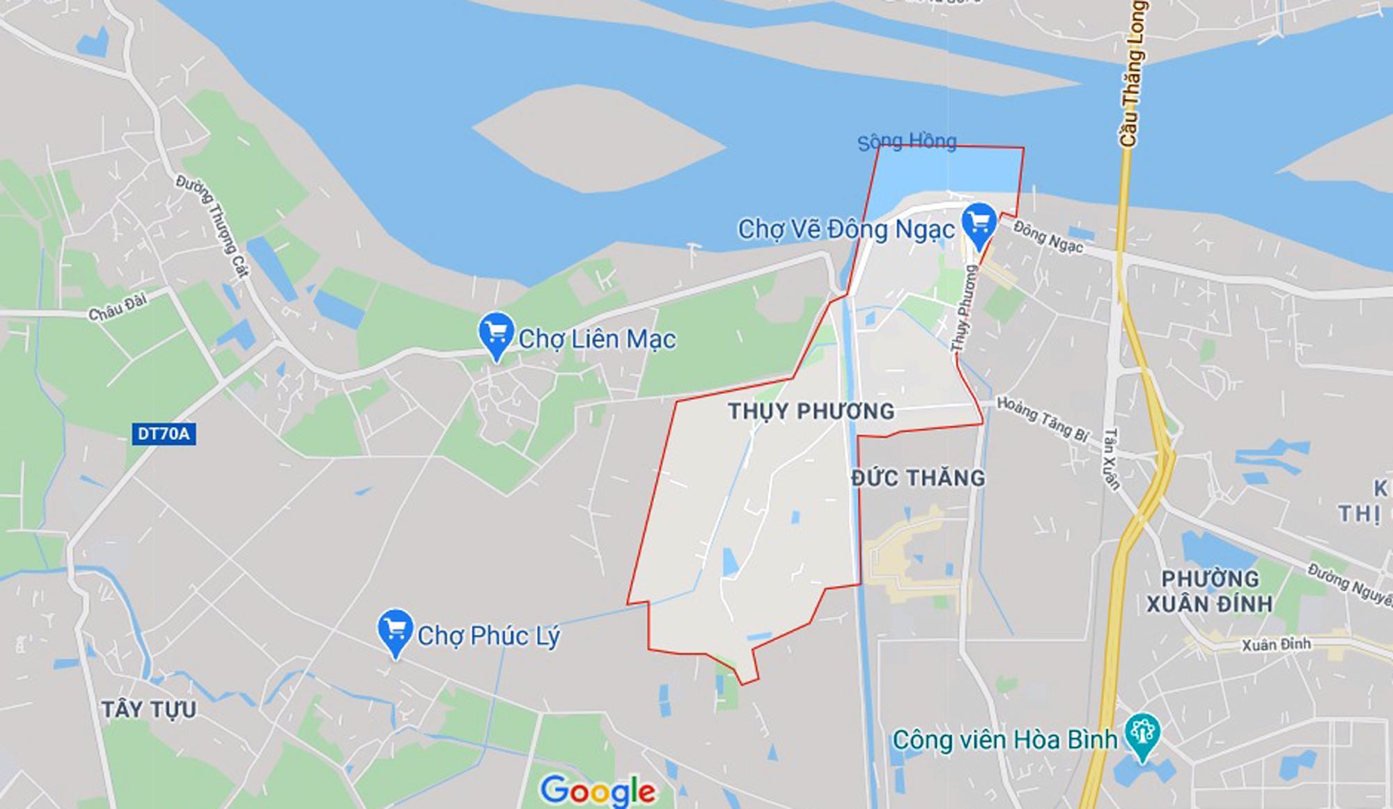 đường sẽ mở theo qui hoạch ở phường Thụy Phương, Bắc Từ Liêm - Ảnh 1.