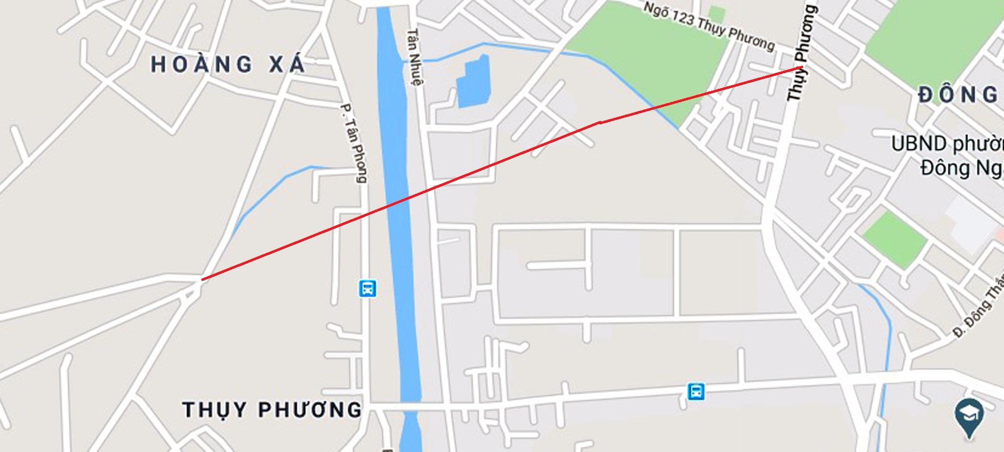đường sẽ mở theo qui hoạch ở phường Thụy Phương, Bắc Từ Liêm - Ảnh 2.