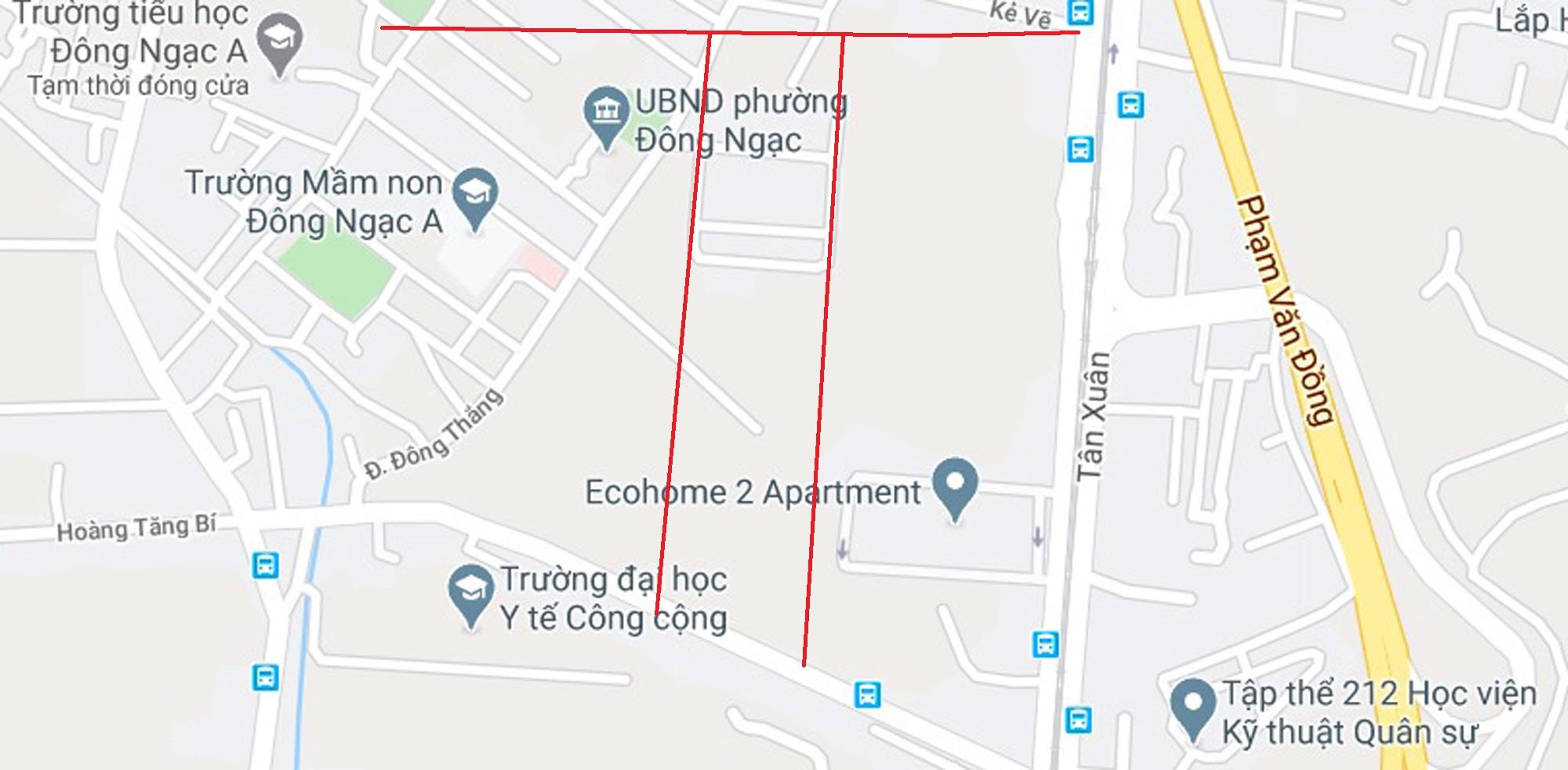 4 đường sẽ mở theo qui hoạch ở phường Đông Ngạc, Bắc Từ Liêm - Ảnh 8.