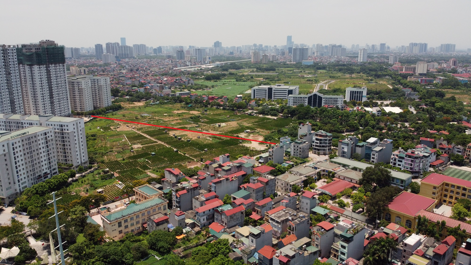 4 đường sẽ mở theo qui hoạch ở phường Đông Ngạc, Bắc Từ Liêm - Ảnh 12.