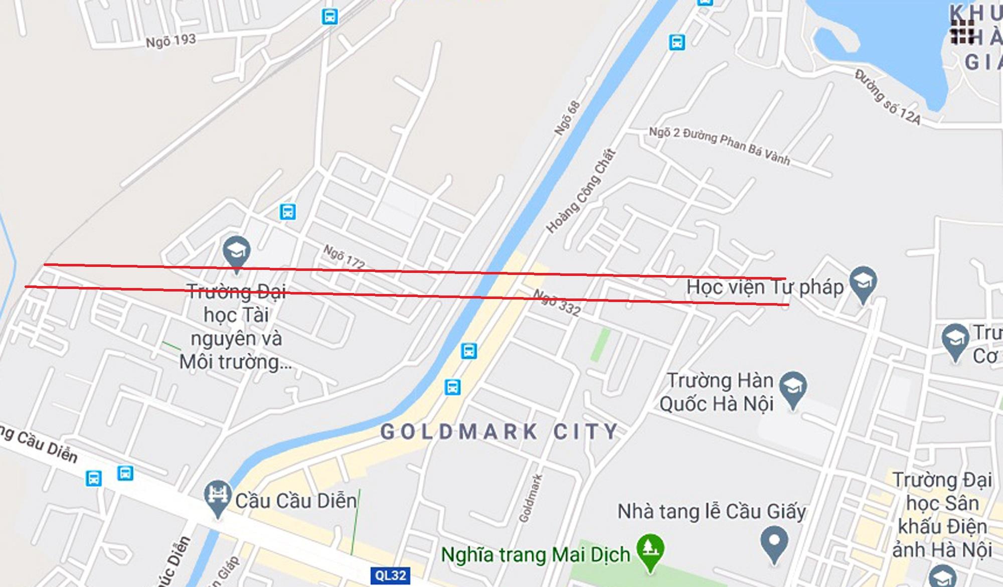 4 đường sẽ mở theo qui hoạch ở phường Phú Diễn, Bắc Từ Liêm - Ảnh 6.