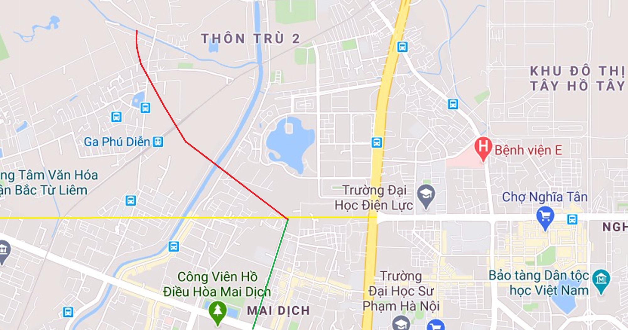 4 đường sẽ mở theo qui hoạch ở phường Phú Diễn, Bắc Từ Liêm - Ảnh 10.