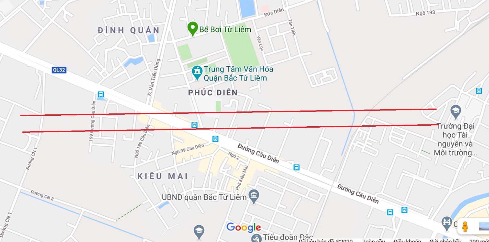 4 đường sẽ mở theo qui hoạch ở phường Phúc Diễn, Bắc Từ Liêm - Ảnh 2.