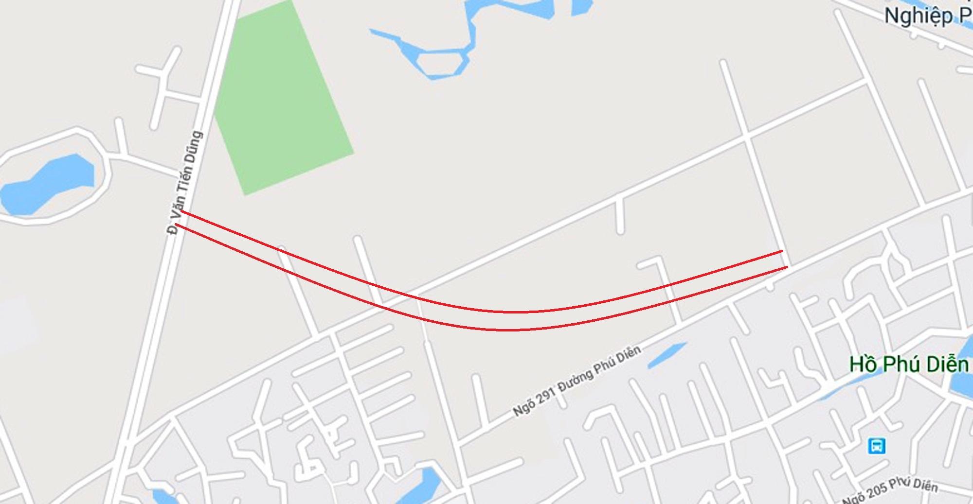 4 đường sẽ mở theo qui hoạch ở phường Phúc Diễn, Bắc Từ Liêm - Ảnh 6.