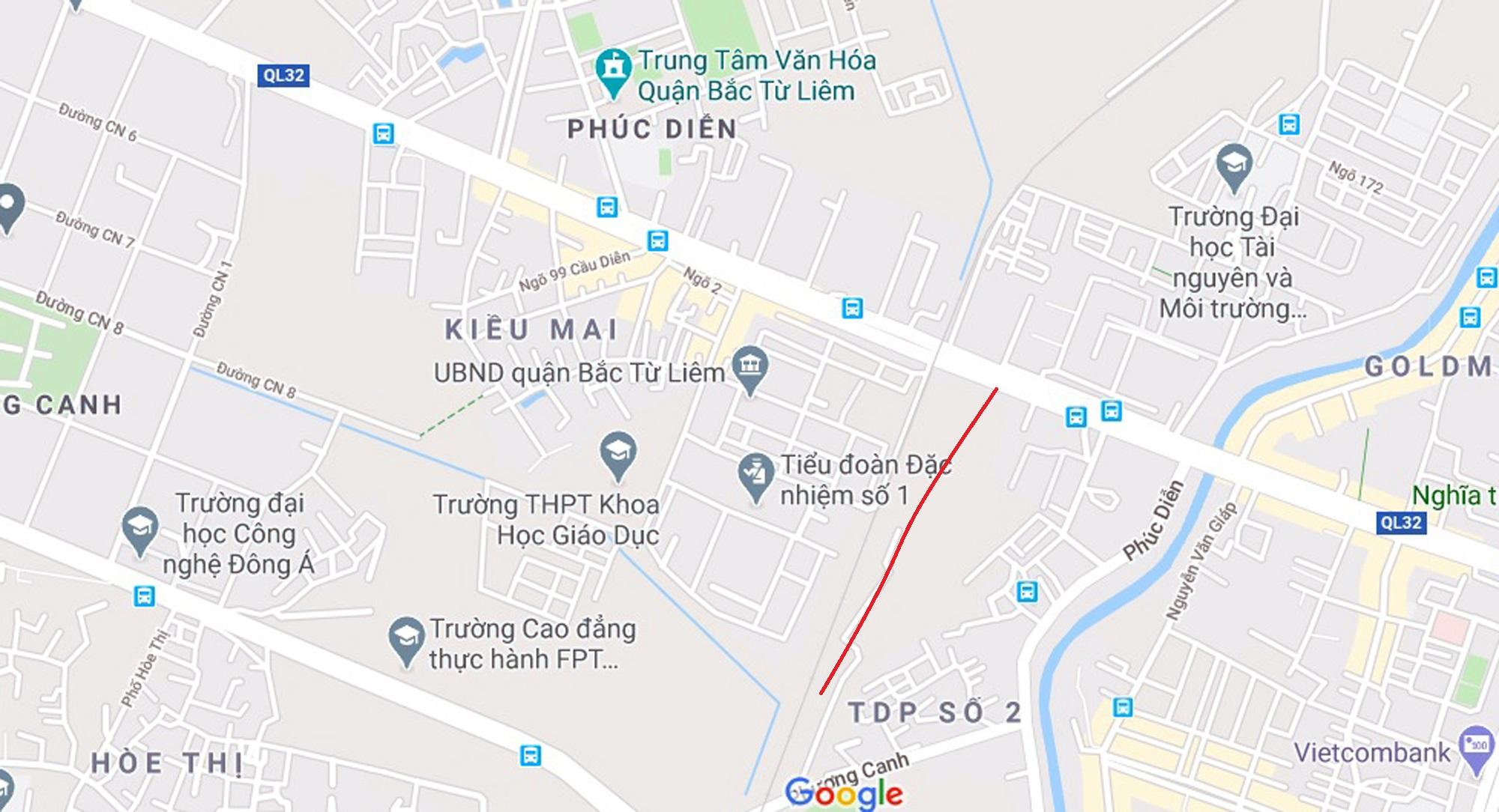 4 đường sẽ mở theo qui hoạch ở phường Phúc Diễn, Bắc Từ Liêm - Ảnh 9.
