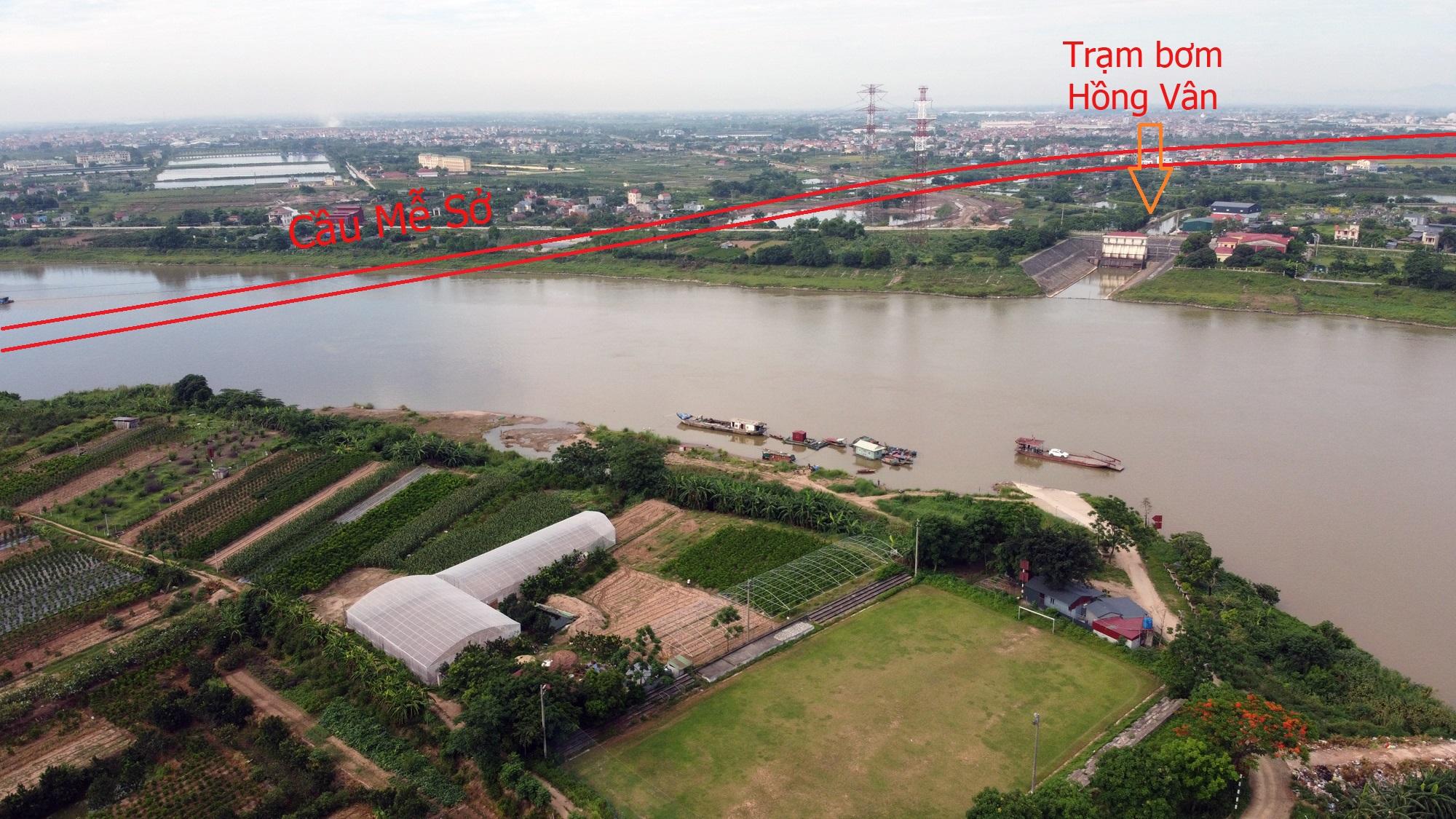 Cầu sẽ mở theo qui hoạch ở Hà Nội: Toàn cảnh vị trí làm cầu Mễ Sở nối Văn Giang - Thường Tín - Ảnh 3.