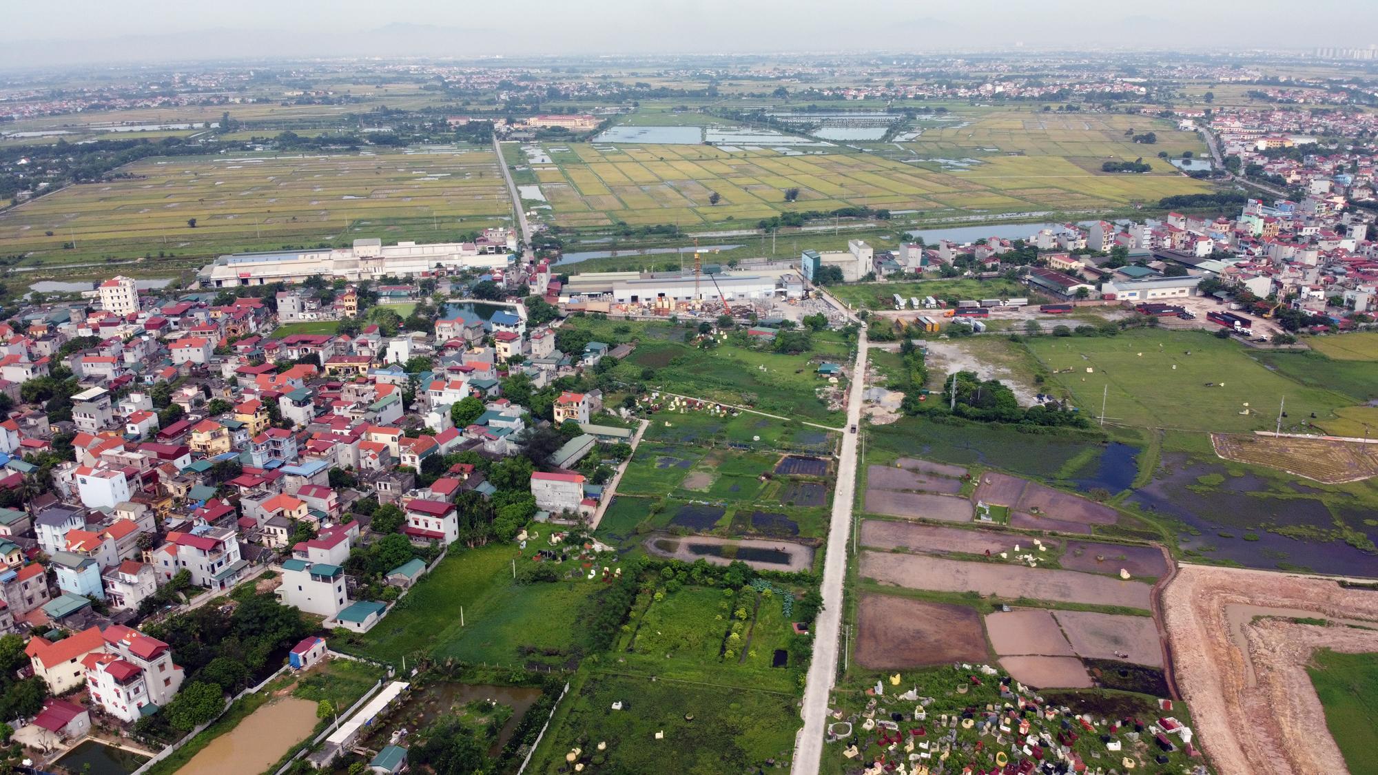 Cầu sẽ mở theo qui hoạch ở Hà Nội: Toàn cảnh vị trí làm cầu Mễ Sở nối Văn Giang - Thường Tín - Ảnh 14.