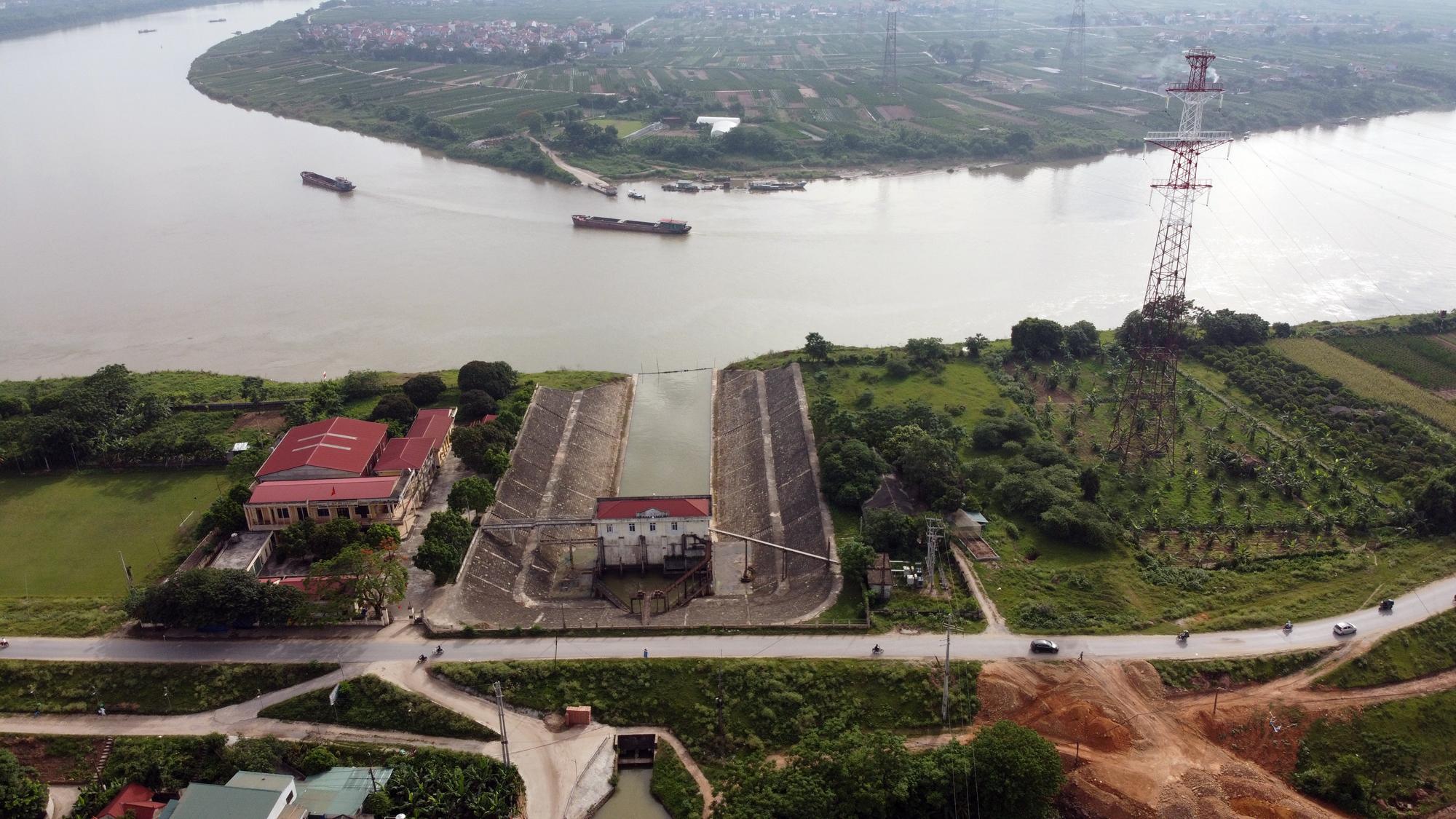 Cầu sẽ mở theo qui hoạch ở Hà Nội: Toàn cảnh vị trí làm cầu Mễ Sở nối Văn Giang - Thường Tín - Ảnh 4.