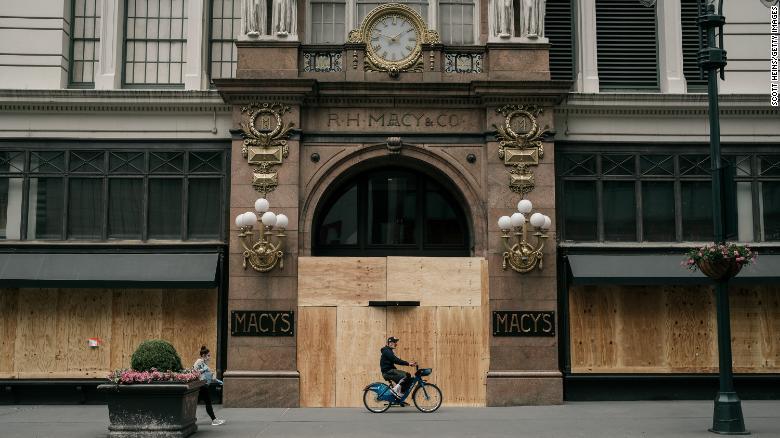 Phương án 'vườn không nhà trống' được nhiều cửa hàng áp dụng tại Mỹ sau khi bị cướp phá trong cuộc biểu tình - Ảnh 3.