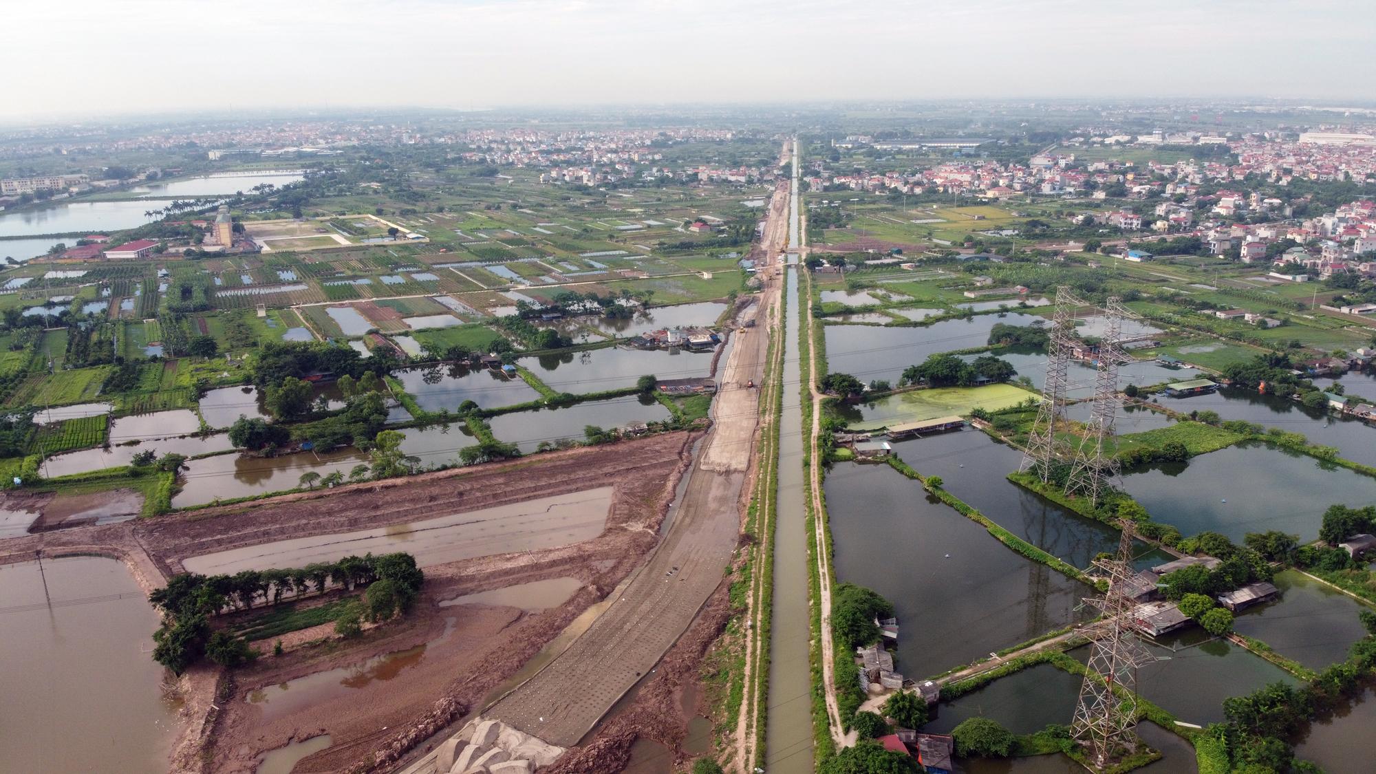 Cầu sẽ mở theo qui hoạch ở Hà Nội: Toàn cảnh vị trí làm cầu Mễ Sở nối Văn Giang - Thường Tín - Ảnh 6.