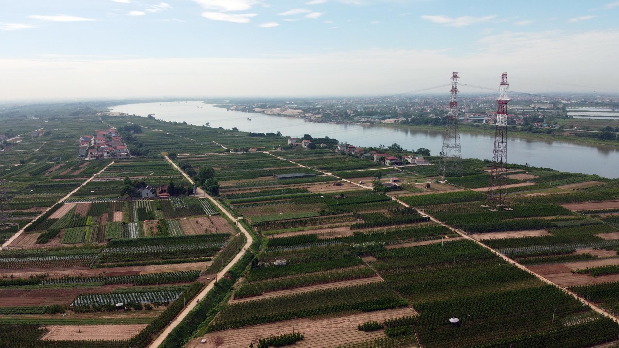 Cầu sẽ mở theo qui hoạch ở Hà Nội: Toàn cảnh vị trí làm cầu Mễ Sở nối Văn Giang - Thường Tín - Ảnh 9.