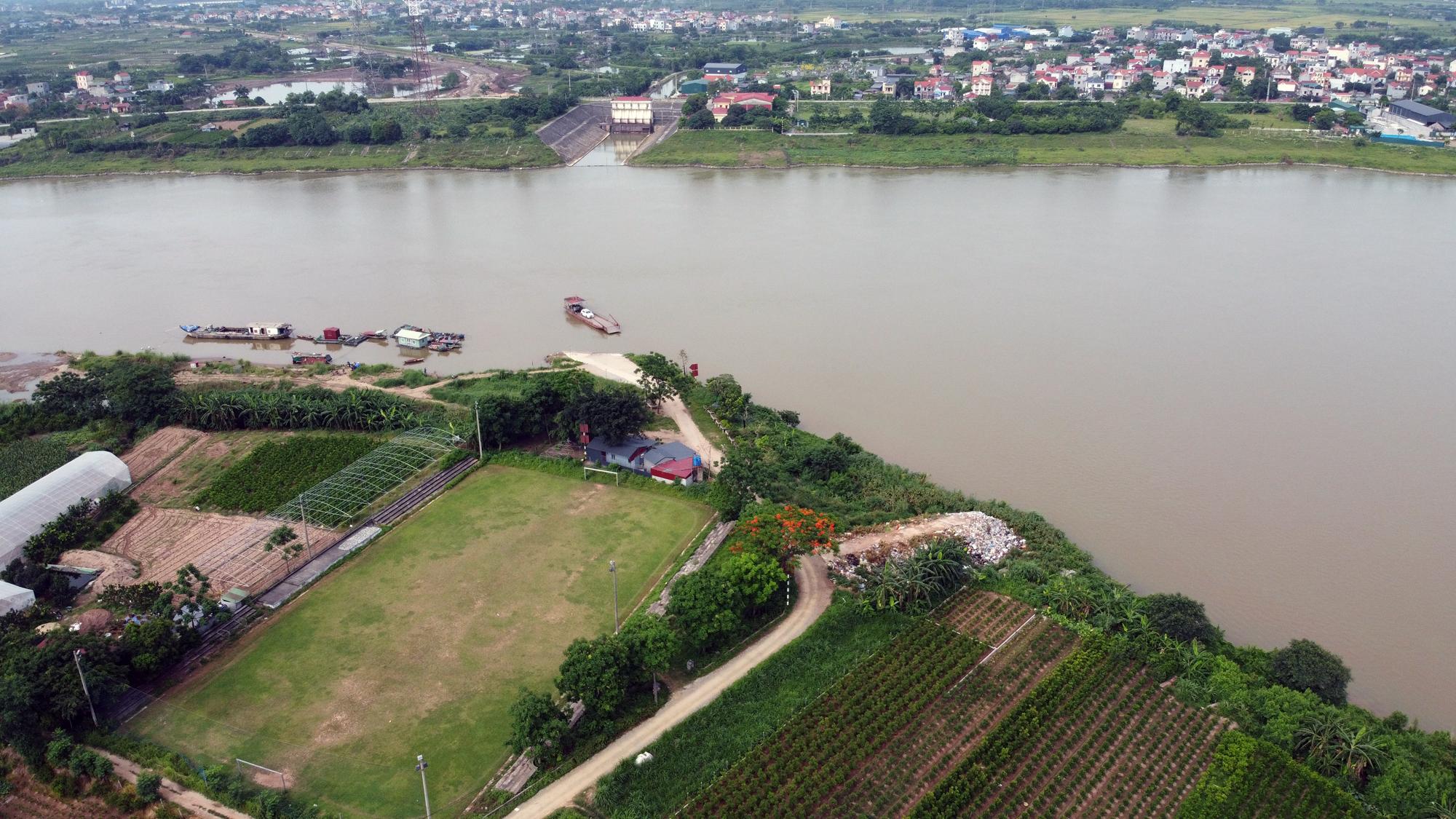 Cầu sẽ mở theo qui hoạch ở Hà Nội: Toàn cảnh vị trí làm cầu Mễ Sở nối Văn Giang - Thường Tín - Ảnh 10.