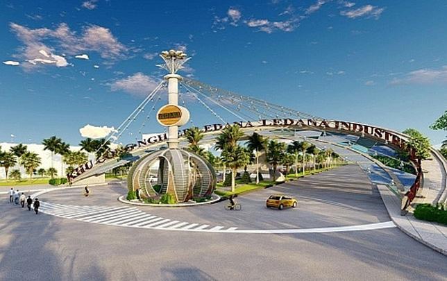1.200 tỉ đồng đầu tư hạ tầng Khu công nghiệp Ledana - Ảnh 1.
