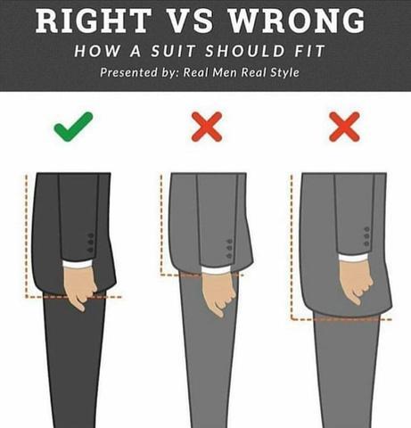 Những sai lầm hàng đầu về kích cỡ của bộ vest mà đàn ông thường mắc phải - Ảnh 3.