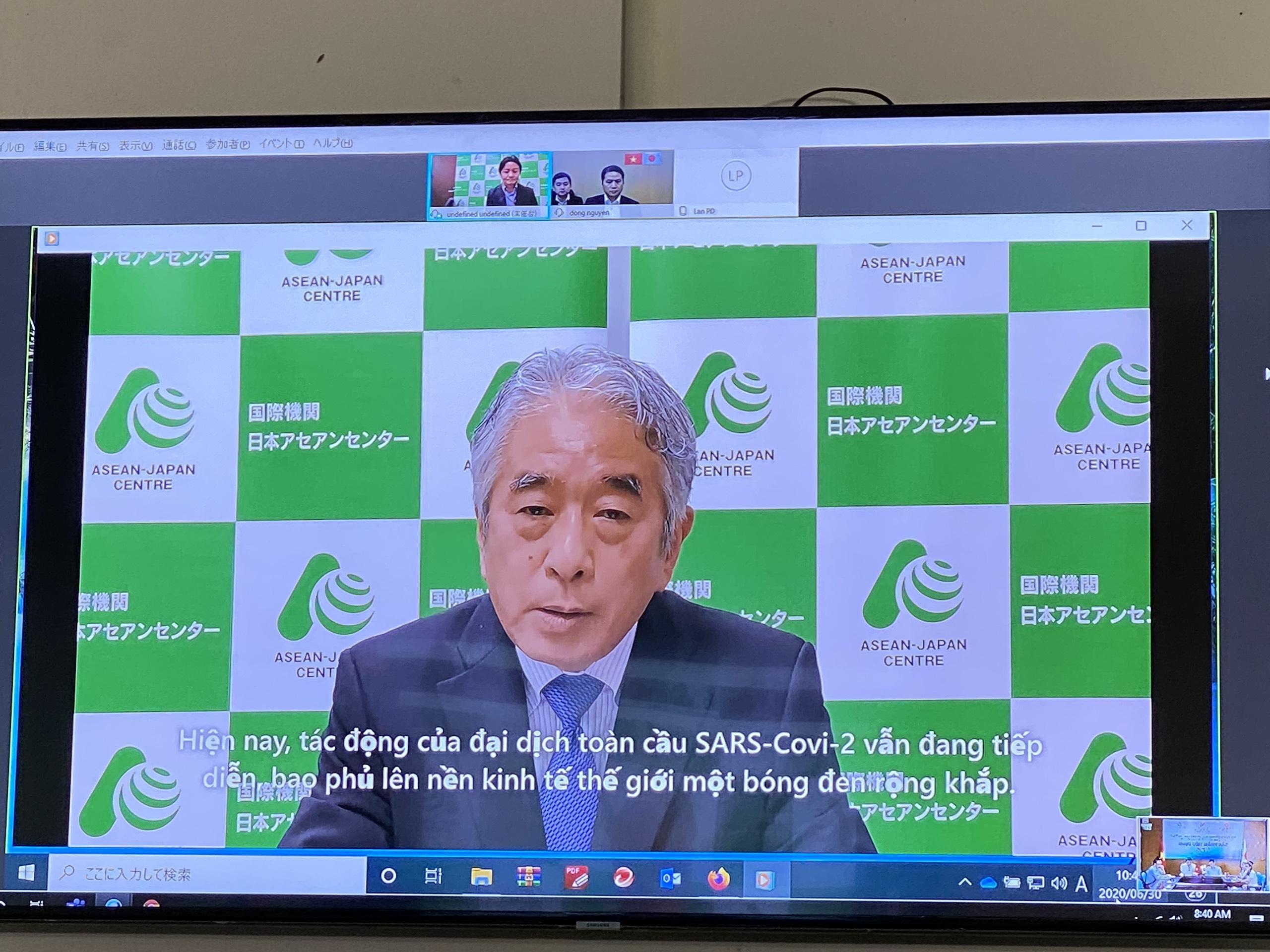 Lần đầu kết nối trực tuyến doanh nghiệp Việt Nam - Nhật Bản trong lĩnh vực hàng tiêu dùng - Ảnh 2.
