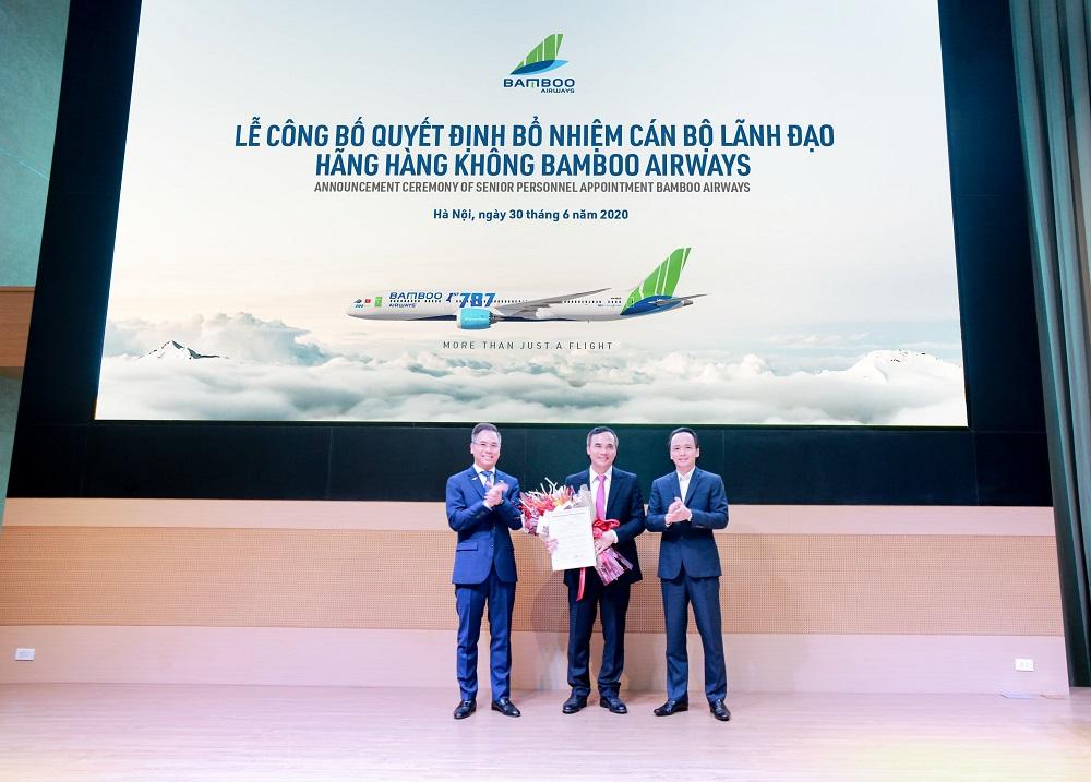Nguyên Giám đốc Hàng không Thiên Minh làm Phó Tổng Giám đốc Bamboo Airways  - Ảnh 1.