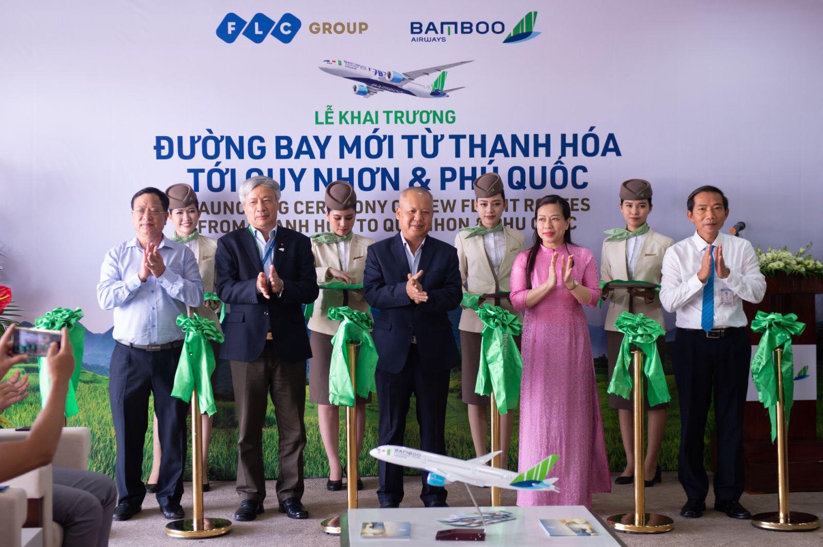 Bamboo Airways khai trương đường bay kết nối Thanh Hóa với Quy Nhơn và Phú Quốc - Ảnh 1.