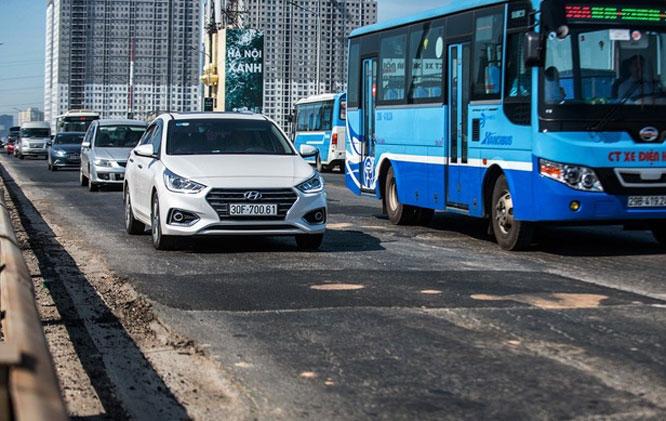 Phương án phân luồng giao thông khi cấm xe lưu thông qua cầu Thăng Long từ 6/8 - Ảnh 1.