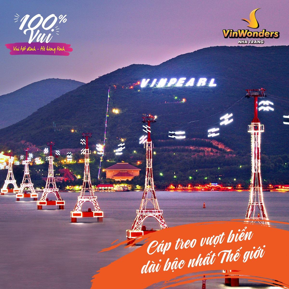 Cập nhật giá vé vào cổng Vinpearl Land Nha Trang: Khuyến mại cực đã trong dịp hè này  - Ảnh 3.