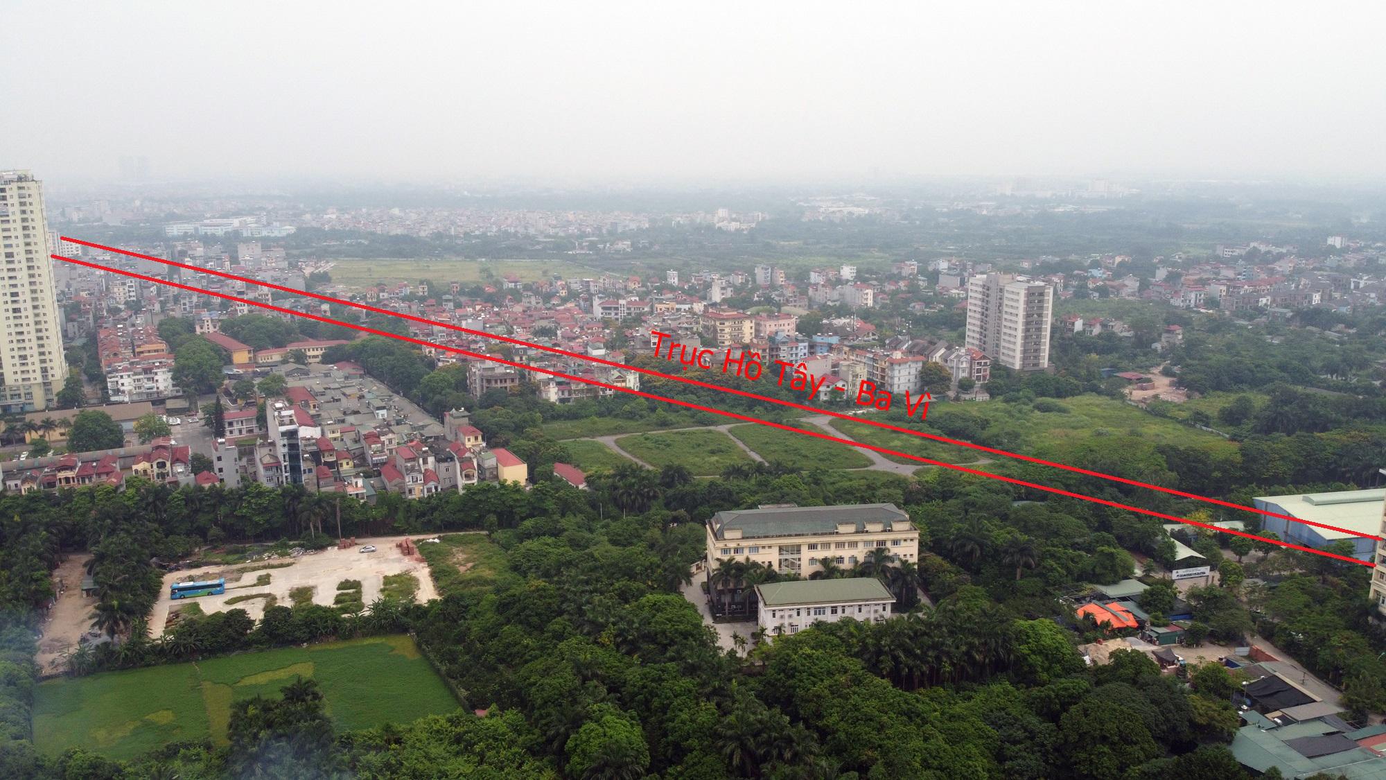 Đường sẽ mở theo qui hoạch ở Hà Nội: Toàn cảnh trục Hồ Tây - Ba Vì đến Vành đai 4 - Ảnh 14.