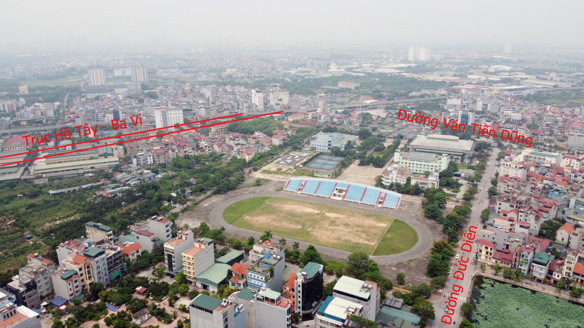 Đường sẽ mở theo qui hoạch ở Hà Nội: Toàn cảnh trục Hồ Tây - Ba Vì đến Vành đai 4 - Ảnh 17.
