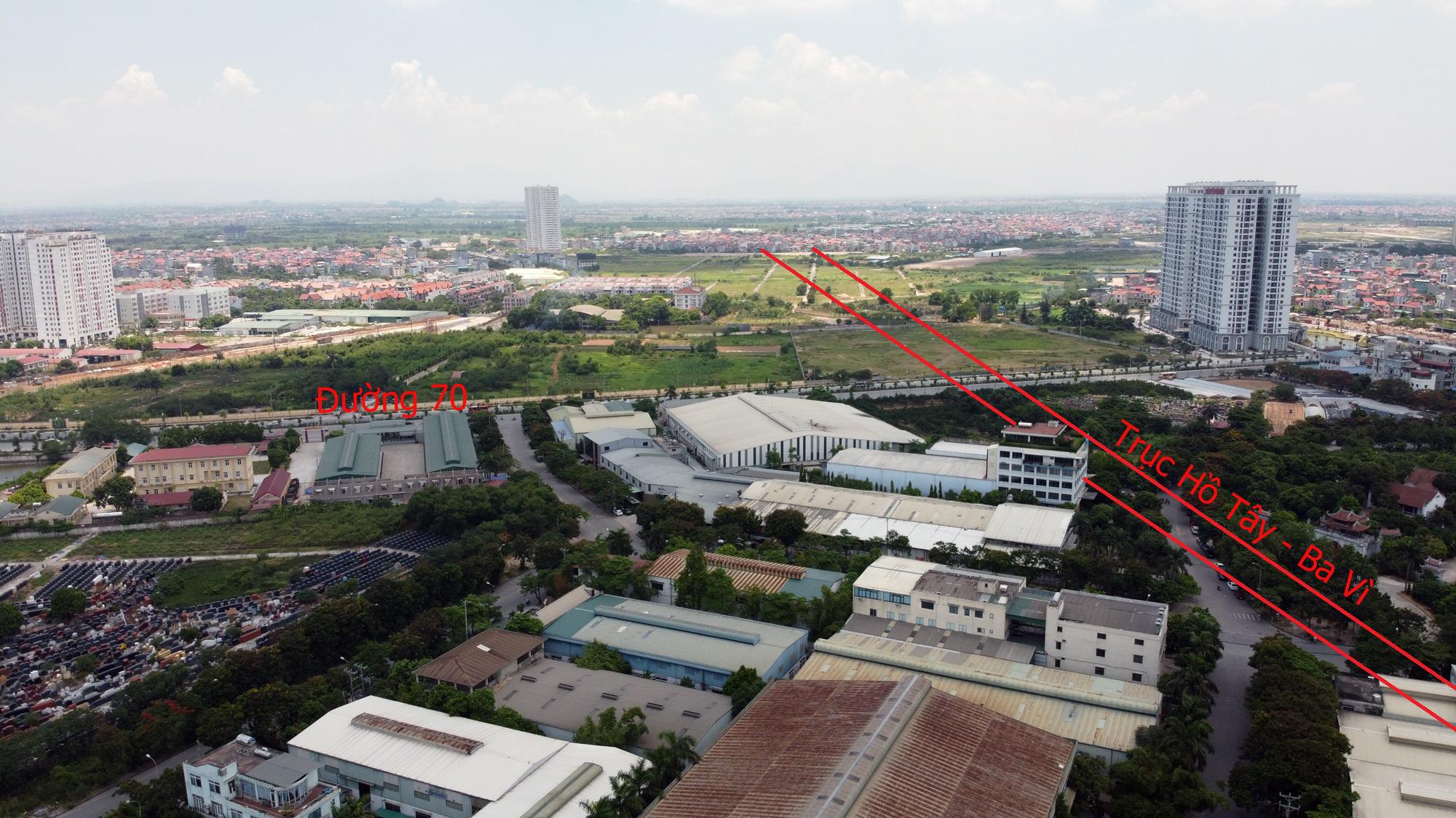 Đường sẽ mở theo qui hoạch ở Hà Nội: Toàn cảnh trục Hồ Tây - Ba Vì đến Vành đai 4 - Ảnh 20.