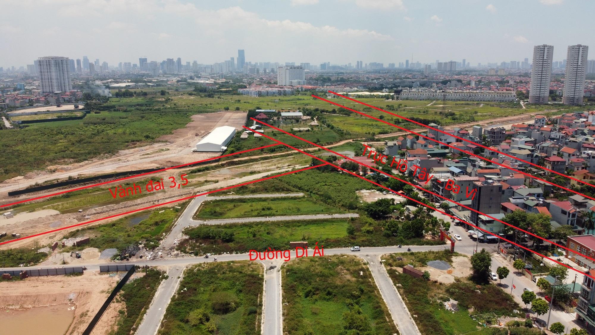 Đường sẽ mở theo qui hoạch ở Hà Nội: Toàn cảnh trục Hồ Tây - Ba Vì đến Vành đai 4 - Ảnh 21.