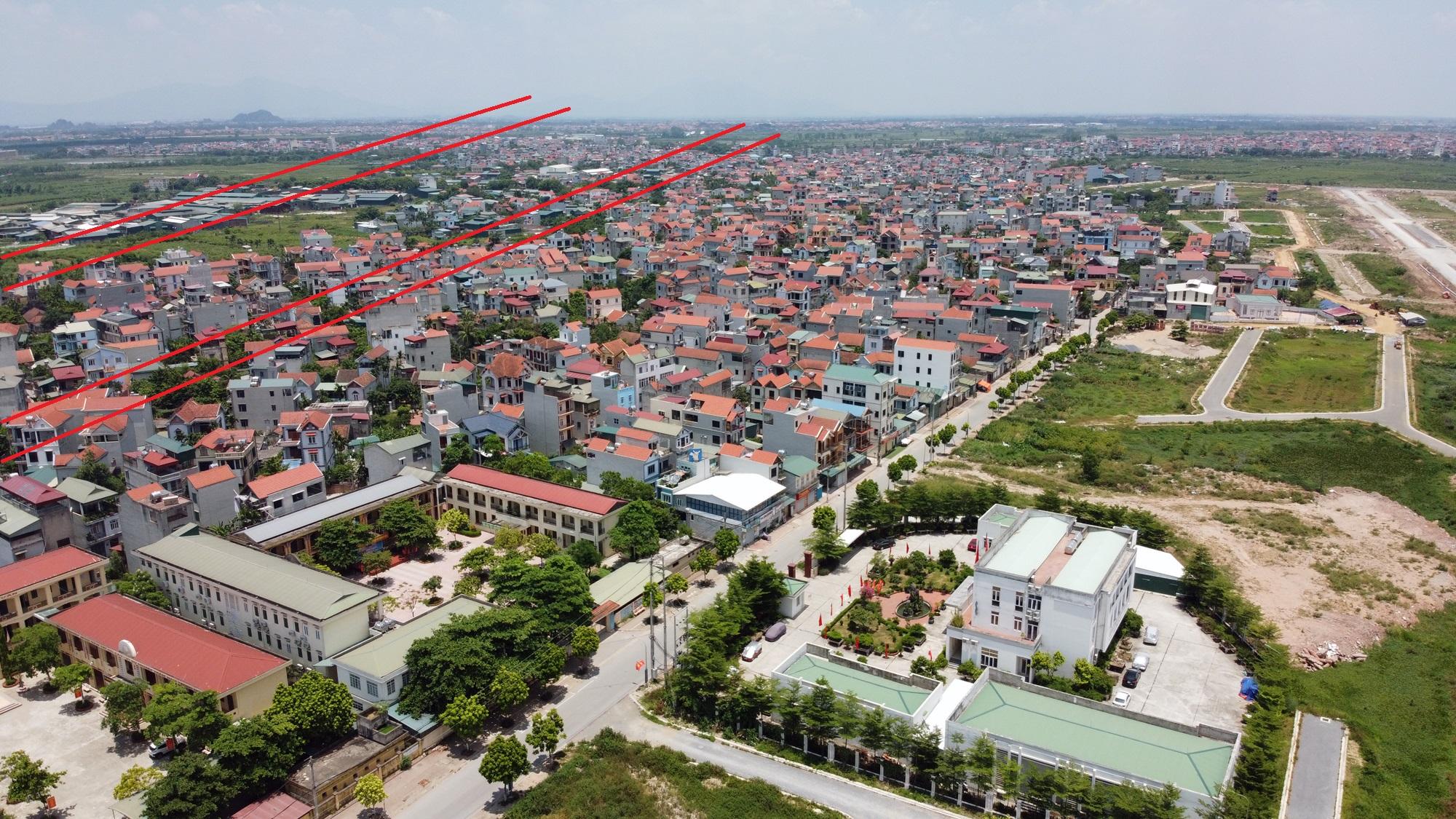 Đường sẽ mở theo qui hoạch ở Hà Nội: Toàn cảnh trục Hồ Tây - Ba Vì đến Vành đai 4 - Ảnh 22.