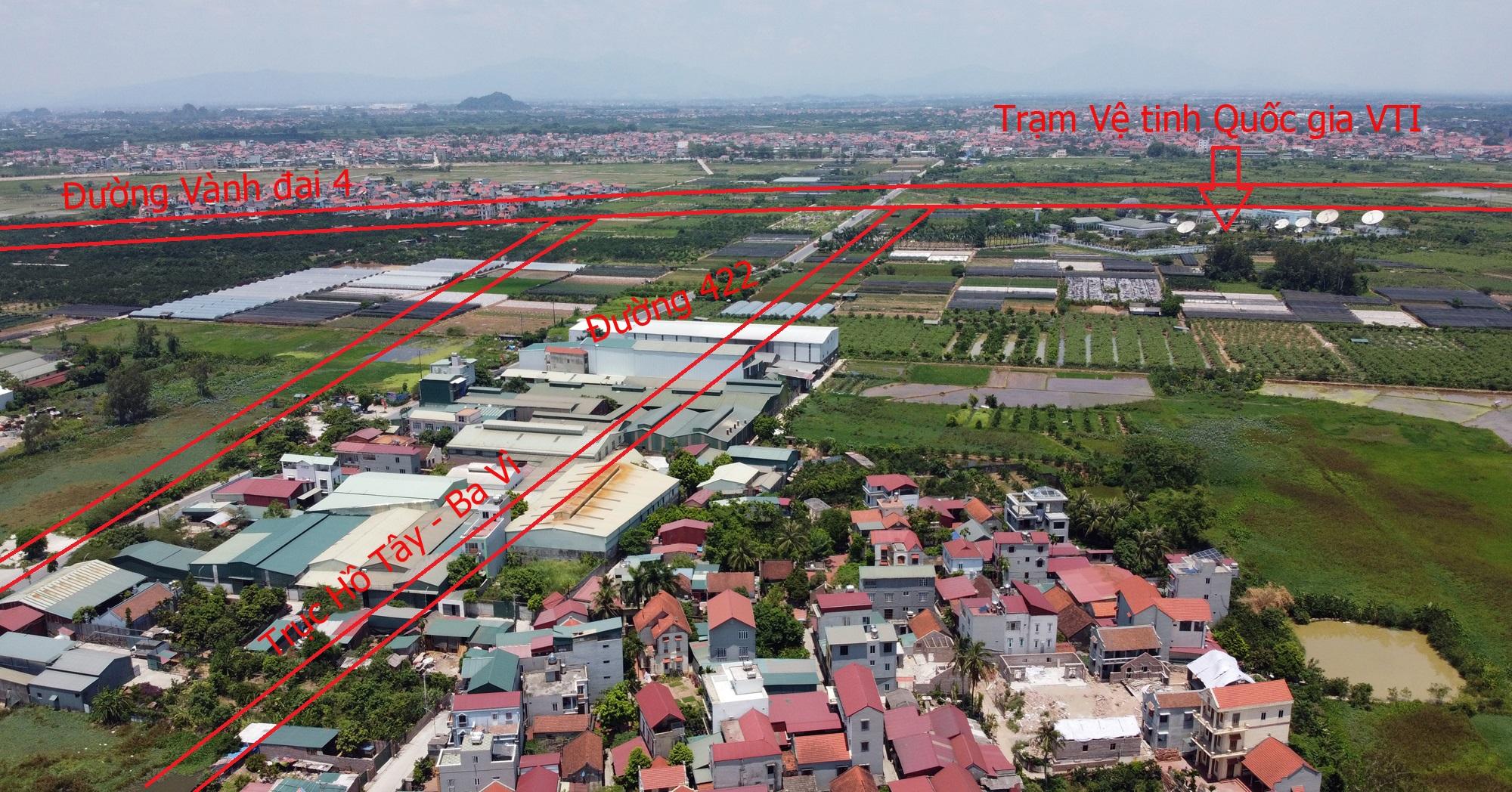 Đường sẽ mở theo qui hoạch ở Hà Nội: Toàn cảnh trục Hồ Tây - Ba Vì đến Vành đai 4 - Ảnh 24.