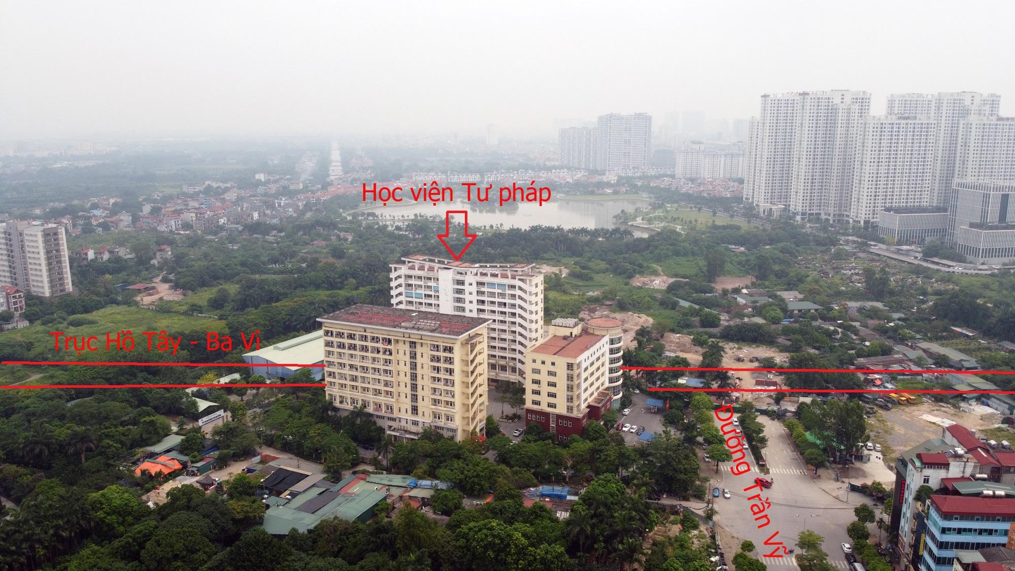 Đường sẽ mở theo qui hoạch ở Hà Nội: Toàn cảnh trục Hồ Tây - Ba Vì đến Vành đai 4 - Ảnh 12.