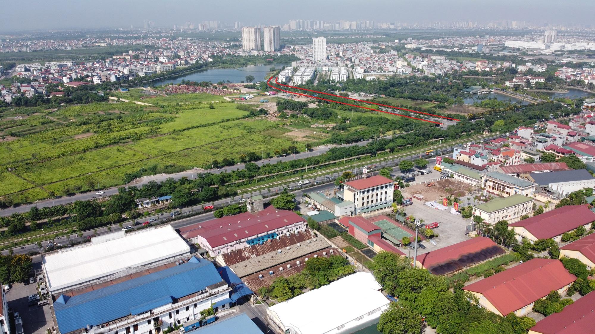 đường sẽ mở theo qui hoạch ở phường Thạch Bàn, Long Biên, Hà Nội - Ảnh 6.