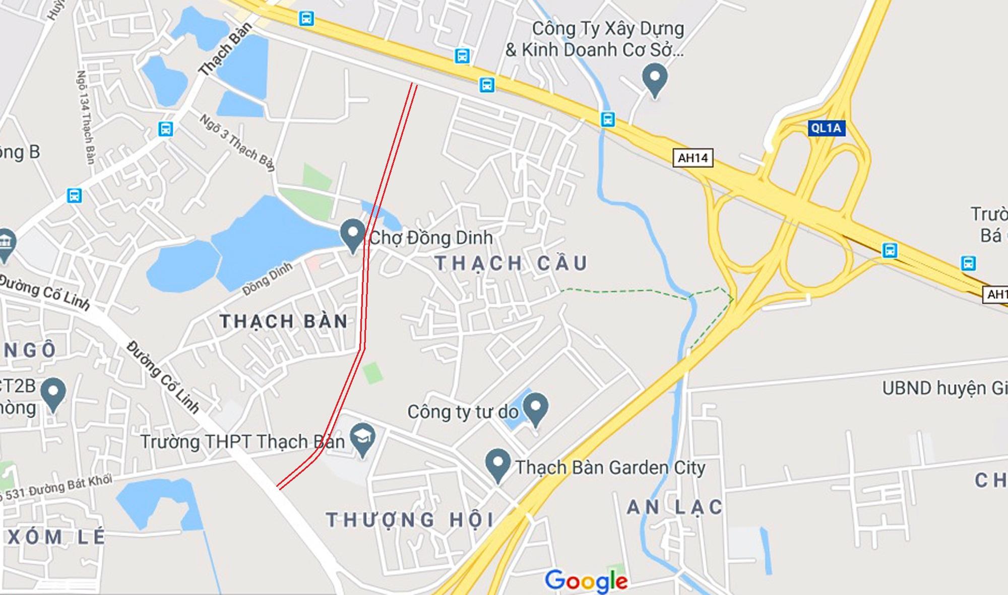 đường sẽ mở theo qui hoạch ở phường Thạch Bàn, Long Biên, Hà Nội - Ảnh 7.