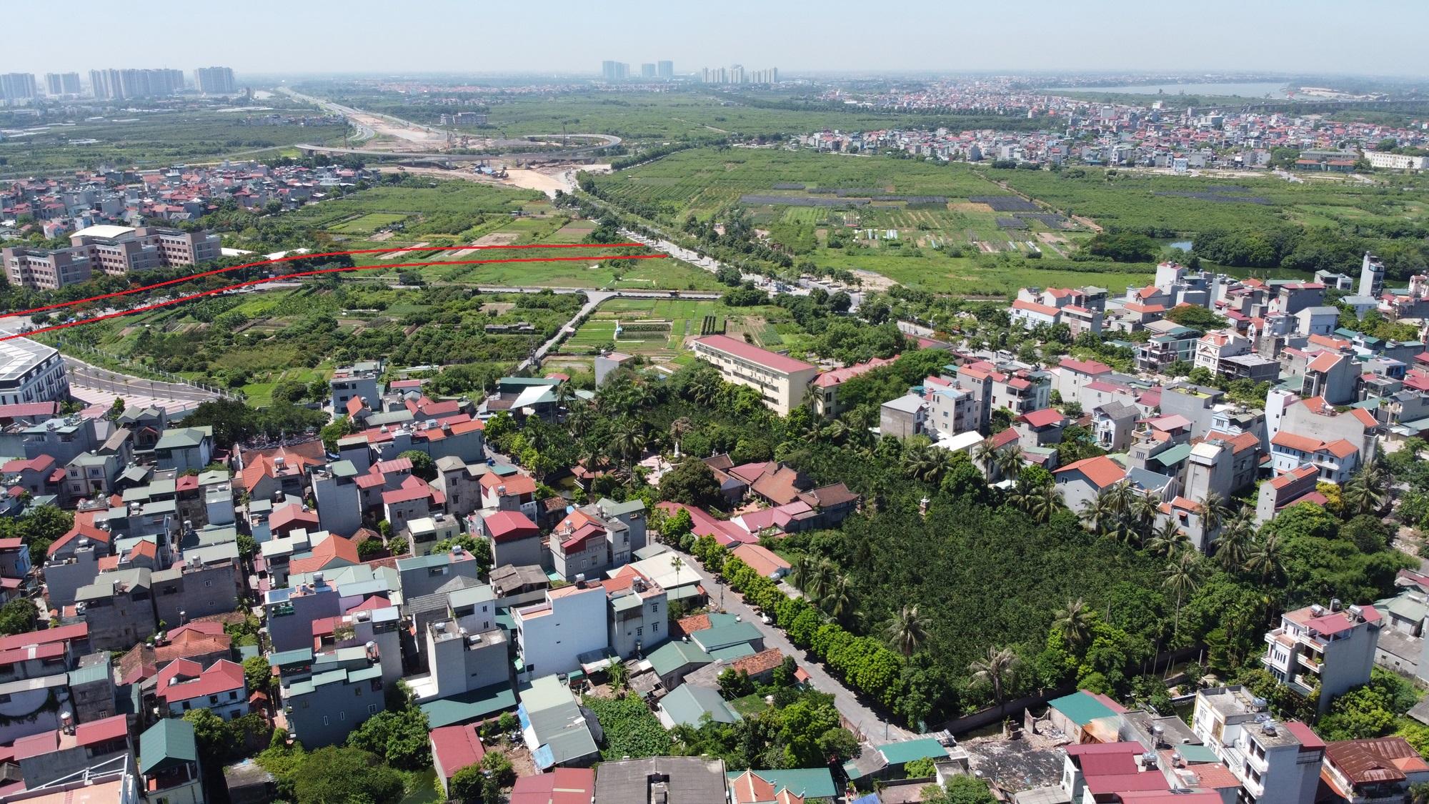 đường sẽ mở theo qui hoạch ở phường Thạch Bàn, Long Biên, Hà Nội - Ảnh 11.