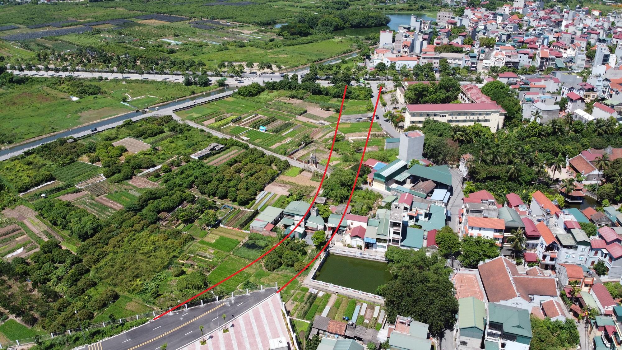 đường sẽ mở theo qui hoạch ở phường Thạch Bàn, Long Biên, Hà Nội - Ảnh 15.