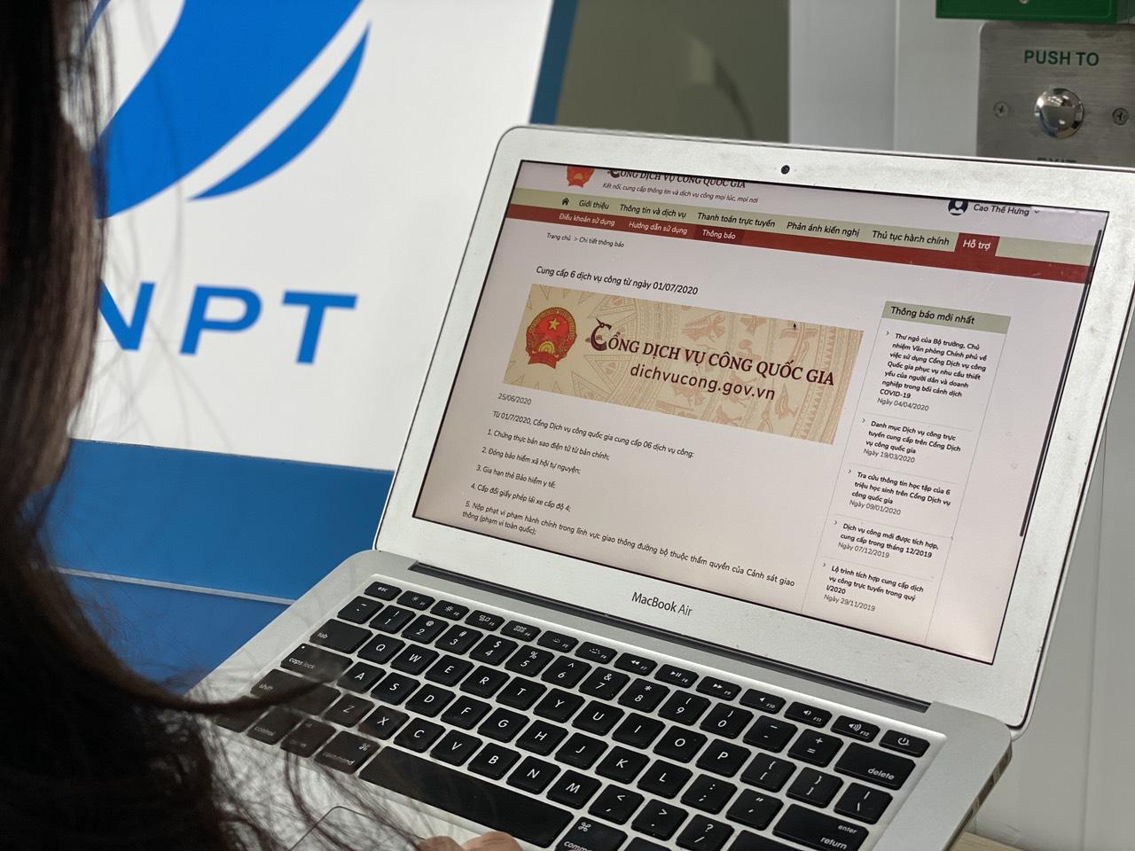 Cổng Dịch vụ công Quốc gia thêm nhiều dịch vụ mới, thanh toán dễ dàng qua ví điện tử - Ảnh 1.