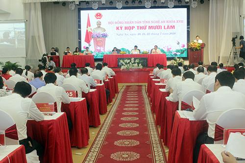 6 tháng đầu năm, Nghệ An chấp thuận chủ trương đầu tư cho 39 dự án hơn 3.400 tỉ đồng - Ảnh 1.
