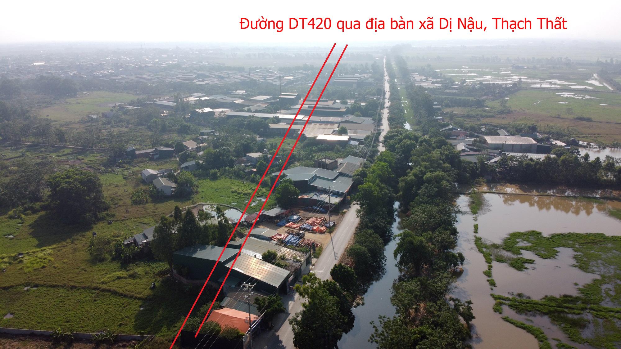 Trục đường Hồ Tây - Ba Vì qua Hòa Lạc sẽ mở theo qui hoạch: Toàn cảnh đoạn Vành đai 4 đến đường Hòa Lạc - Hòa Bình - Ảnh 11.